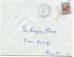 COTES D ARMOR De GOMENE  Cachet E8 Sur   Env. De 1967 - 1961-....