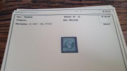 LOT 296075 TIMBRE DE FRANCE OBLITERE N�12  BLOC