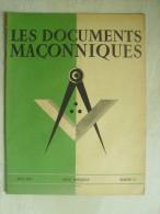 """Les Documents Maçonniques  """"  N° 11 De Aout 1943 - 36 Pages - Esotérisme"""