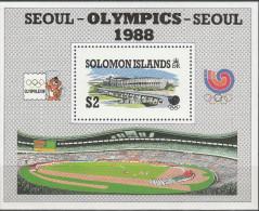 """SALOMON INSELN Block 26(691)""""Olympische Sommerspiele,Seoul"""" MNH / ** / Postfrisch - Salomoninseln (Salomonen 1978-...)"""