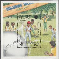 """SALOMON INSELN Block 28(717) """"WORLD STAMP EXPO '89,Washington"""" MNH / ** / Postfrisch - Salomoninseln (Salomonen 1978-...)"""