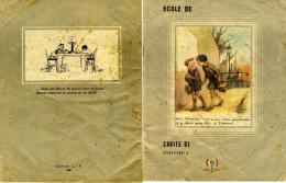 Cahier D'écolier 1938-1945 Avec La Francisque Et Le Message De Philippe Pétain (ci-dessous) - Kids