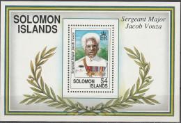"SALOMON INSELN Block 32(783) ""Sir Jacob Charles Vouza"" MNH / ** / Postfrisch - Salomoninseln (Salomonen 1978-...)"