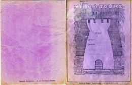 Cahier D'écolier De La Ville De Tours 32 Pages Toutes Numérotées. Cahier Complet En Bon état - Librairie Gambier - Bambini