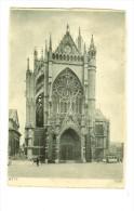 Me 014 Verlag H.Hoffmann -  Metz : Cathédrale  -2 Scans Verso Hitler (défaut) - Metz