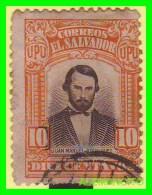 EL SALVADOR   SELLO   AÑO  1914 - El Salvador
