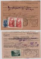 SU, 1939, 1940, 2 Frankierte Formulare , #5034 - Storia Postale