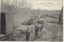 19 La correze illustr�e, d�raillement pr�s de la gare st cl�ment-la grauli�re, 1er avril 1905