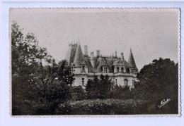 8386 Cpa  VIAS   : Château De La Gardie    , Carte Photo 1956  ,ACHAT DIRECT !!! - Otros Municipios