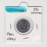 COSTA RICA   2 CENTIMOS    ANNO 1990  FDC - Costa Rica