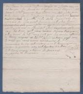 42 LOIRE - RECU A DECHIFFRER DATE DE 1718 - VIGNOBLE DE LA SABLE DEPENDANT DU PRIEURE DE LHOSPITAL - CIERGOU CIERGUES - Manuscripts