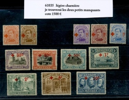 150/163 * Légère Charnière  Cote 1500 Euros (en 2019) - 1918 Red Cross