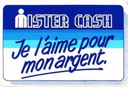 Mister Cash - Je L'aime Pour Mon Argent - Autocollants