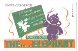 """Buvard Ancien """"Thé De L'Eléphant"""" - Buvards, Protège-cahiers Illustrés"""