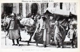 Mission De Sien Hsien  - Ariivée De L'évèque - Cina