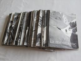 LA MONTAGNE - Revue Du Club Alpin - Complet Avril 1947 / Octobre 1963 - 78 Numéros - Géographie