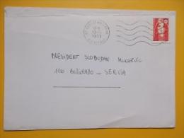 720 - Condat Sur Vienne TO BELGRADE, SERBIA, PRESIDENT SLOBODAN MILOSEVIC - Frankreich