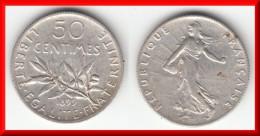 **** 50 CENTIMES 1899 SEMEUSE - ARGENT **** EN ACHAT IMMEDIAT !!! - Francia