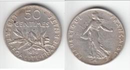**** 50 CENTIMES 1898 SEMEUSE - ARGENT **** EN ACHAT IMMEDIAT !!! - France