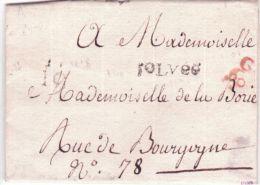 Non Daté - Petite Poste De Paris - Port Paye - Remise Au Boitier G60 , 5 LVee , Q 19 - 1701-1800: Précurseurs XVIII