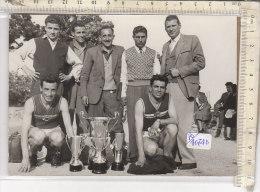 PO4074D# FOTOGRAFIA Anni '60 - CAMPIONI ATLETICA NAZIONALE ITALIA LANCIA TORINO - LIVIO BERRUTI - Atletica