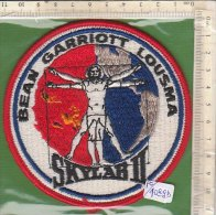 PO4089D# PATCH ASTRONAUTICA - SPAZIO - BEAN GARRIOTT LOUSMA SKYLAB II - NASA SPACE CENTER USA - Scudetti In Tela