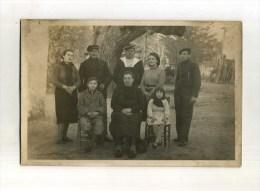 -  PHOTO DE FAMILLE  . - Anonyme Personen