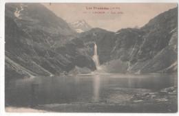 CP LUCHON LAC D'OO (31 Haute Garonne) OBLITERATION 1910 BAGNERES DE LUC HTA GARONNE - Luchon