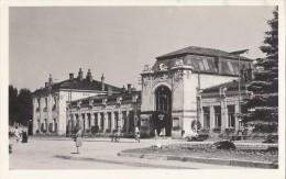 POLAND - Nowy Sacz 1960´s - Dworzec Kolejowy - Train Station - Bahnhof - Pologne