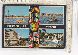 PO4300D# ROVIGO - ROSOLINA MARE - HOTEL - PISCINA  VG 1981 - Rovigo