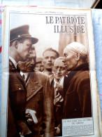 Le Patriote Illustré N°41 Du 11/10/1936 La Bouverie Cureghem Soignies Gand Arlon Espagne Soudan Pays-Bas Le Caire - Vieux Papiers