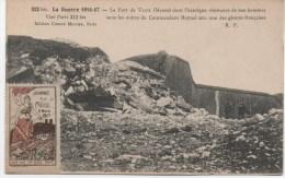 LE FORT DE VAUX  VIGNETTE  JOURNEE DE LA MEUSE 4 MARS 1917 - France