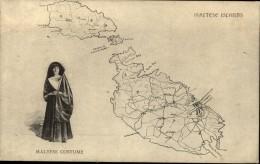 MALTESE ISLANDS  Maltese Costume - Malta