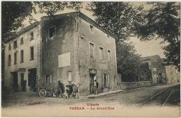 Thezan La Grand Rue Attelage De Chien Remouleur Dog Cart With Grinder Edit Cooperative - Francia