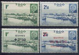 Togo                                  215/216  ** - 226/227  ** - Togo (1914-1960)