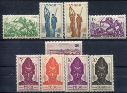 Togo                                                 217/225  ** - Togo (1914-1960)