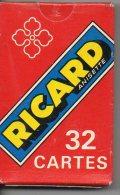 Richard Anisette  Publicité Pub 32 Cartes (610) - 32 Cartes