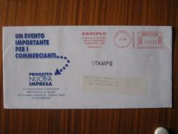 AM1 ITALIA METER STAMP AFFR. MECCANICA MONEY BANCA BANK BANQUE - 1996 VERCELLI CARIPLO PROVINCIE LOMBARDE - Affrancature Meccaniche Rosse (EMA)