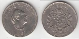 **** TONGA - 20 SENITI 1967 SALOTE TUPOU III **** EN ACHAT IMMEDIAT !!! - Tonga