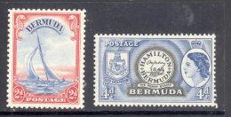 BERMUDA, 1938 2d Also 1953 4d Unmounted Mint - Bermuda
