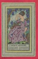 Denise Millon. Art - Déco L´amante Délaissée. Illustration Rare, Pochoir Sur Papier épais. 2 Scans. - Other Illustrators