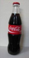 AC - COCA COLA EMPTY GLASS BOTTLE & CROWN CAP 300 Ml FROM TURKEY - Botellas