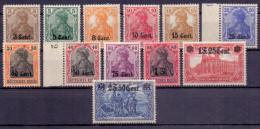 Etappe West Mi. 1-12 ** (€ 320,00) - Ansehen!! - Occupation 1914-18