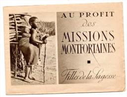 Missions Montfortaines - Erinnophilie