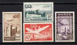 MAROC - N° A85/88* - VUES - Airmail