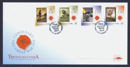 "2014 TRISTAN DA CUNHA ""CENTENARY OF THE FIRST WORLD WAR"" FDC - Tristan Da Cunha"