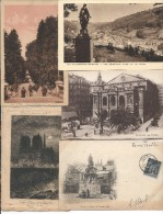Lot De 10cp De France - 5 - 99 Postkaarten
