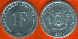 Burundi 1 Franc 2003 UNC - Burundi