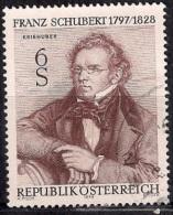670B - Austria 1978 - The 150th Anniversary Of The Death Of Franz Schubert Used - 1945-.... 2ª República