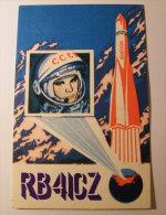 Kt 709 / QSL Radio Card  USSR  Cosmonaut Mariupol Vostok Ukraine - Radio Amateur
